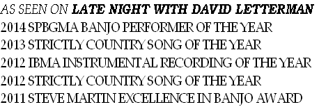 AS SEEN ON LATE NIGHT WITH DAVID LETTERMAN